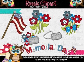 Memorial Day  3 Clipart