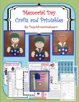 Memorial Day Crafts and Printables ( 2 crafts!)