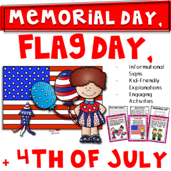 Memorial Day and More! Bundle {Flag Day & 4th of July Too-