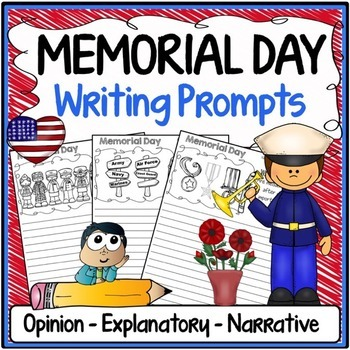 Memorial Day Free Writing Prompts {Narrative, Informative