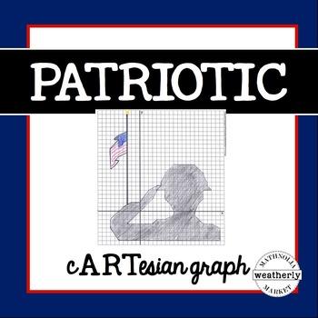 Graphing Activity - Patriotic , Veteran's Day, Memorial Day