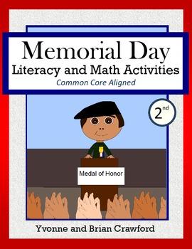 Memorial Day Math and Literacy Activities Second Grade Com