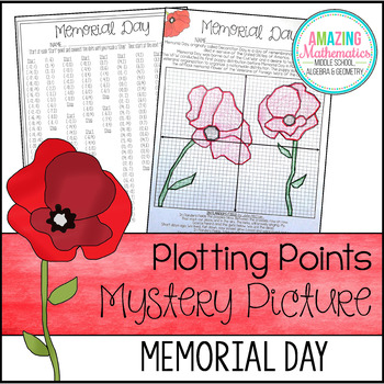 Memorial Day Plotting Points - Mystery Picture