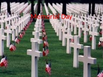 Memorial Day - Power point facts history pictures 14 slides