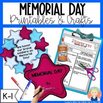 Memorial Day Printables {K-1}