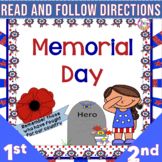 Memorial Day Read and Follow Directions
