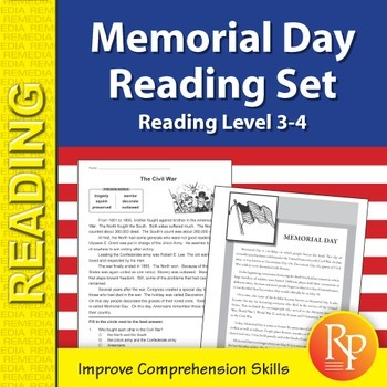 Memorial Day Reading Set