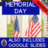 Memorial Day Unit for Special Education