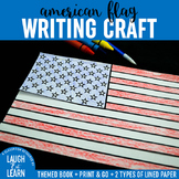 American Flag Writing Craft