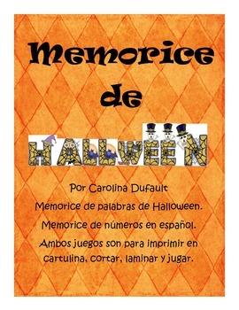 Memorice de Halloween