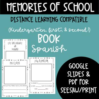 Memories of Kindergarten  book Spanish
