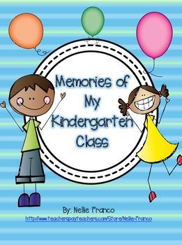 Memories of My Kindergarten Class