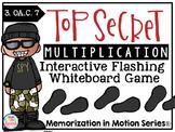 Memorization in Motion Multiplication- Top Secret Edition