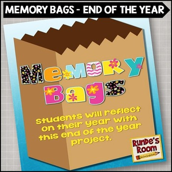 End of the Year Memory Bag Activity