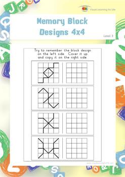 Memory Block Designs 4x4