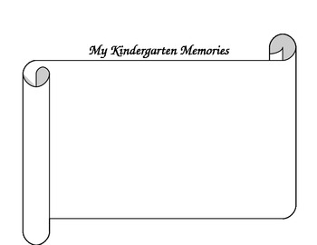 Memory Book- 10 page fill in the blank book