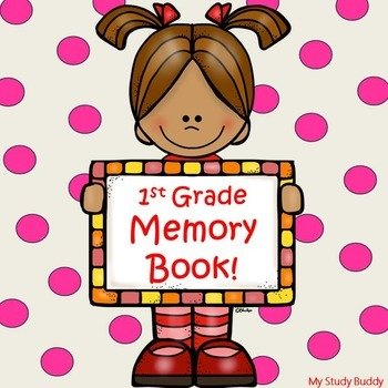 End of the Year Activities - 1st Grade Memory Book