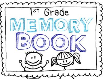 1st Grade Memory Book