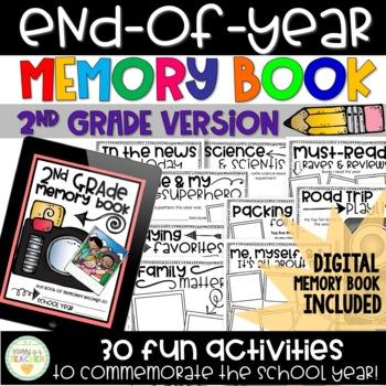 Memory Book - 2nd Grade