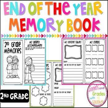 Memory Book-2nd Grade
