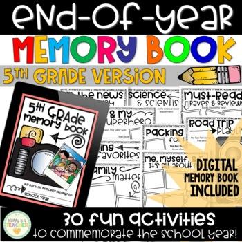 Memory Book - 5th Grade