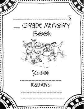 Memory Book (Any Grade!)