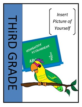 Memory Book - End of Year Activity 3rd and 4th Grades