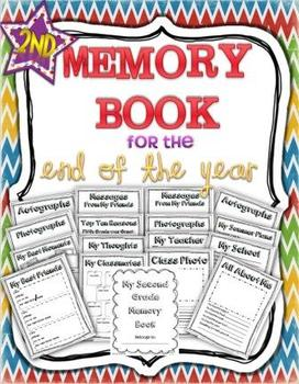 End of Year - Memory Book: Second Grade