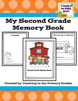 Memory Book-Second Grade