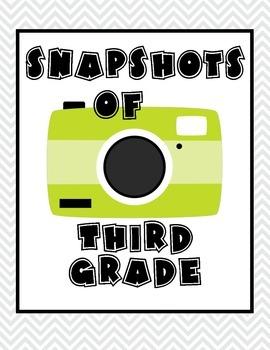 Memory Book- Snapshots of Third Grade