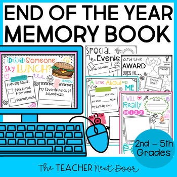 Memory Book: Tales of a 5th Grader - End of the Year