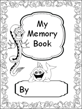 Memory Book With Ocean Theme