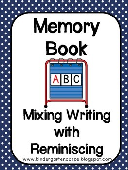 Memory Book and Yearbook : Student Writing Time Capsules