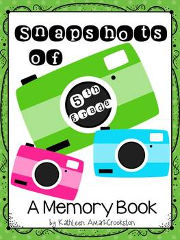 Memory Book for 5th Grade