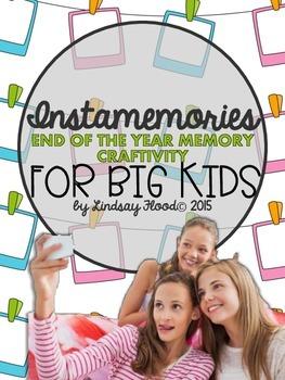 Memory Book for BIG KIDS!