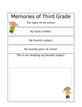 Memory Booklet!
