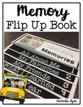Memory Flip Up Book Freebie