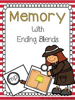 Ending Blends/Digraphs