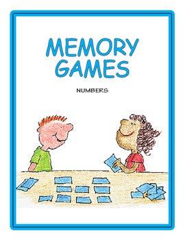 Numbers and Blocks Memory Game