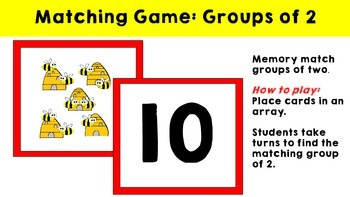 Multiplication Groups of - Snap , Go Fish & Memory