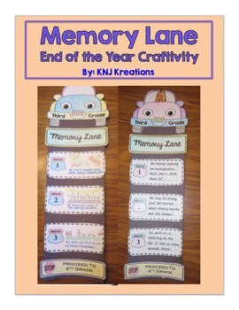 Memory Lane: End of The Year Craftivity