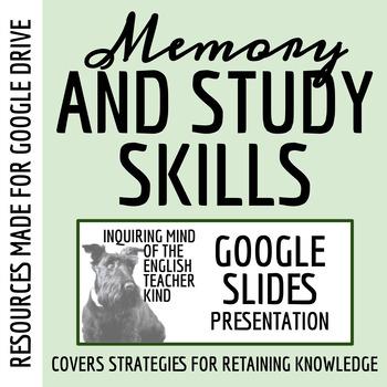 Memory, Mnemonics, and Study Skills for High School Studen
