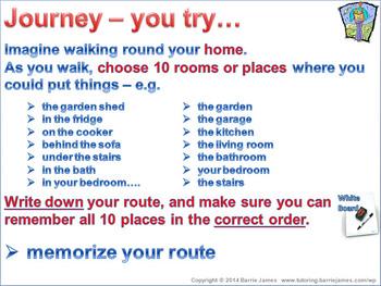 Memory - Strategies 6: Using Locations