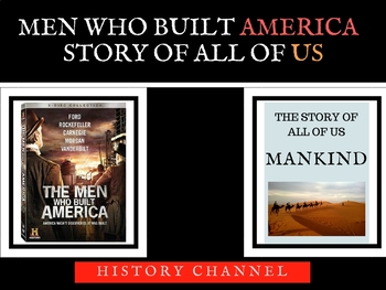 Men Who Built America - Mankind the Story of All of Bundle