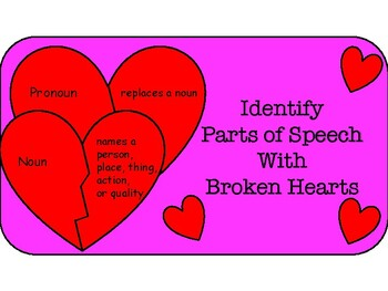 Mend Broken Hearts with Parts of Speech