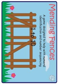 Maths Centre:Mending Fences-  Number line,ordering numbers