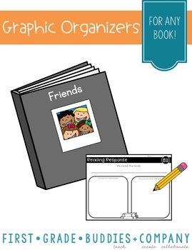 Good Readers Make Mental Images {Set of 5 Reading Organizers}