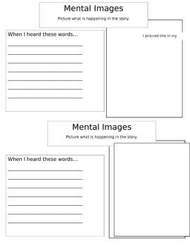 Mental Images Sheet