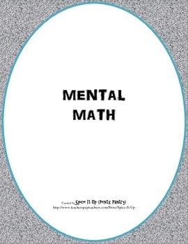 Mental Math Game