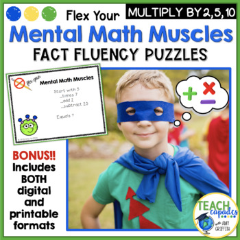 Mental Math Muscles - Multiplication